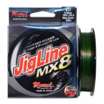FIR JIGLINE MX8 MOSS GREEN