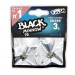 FIIISH BLACK MINNOW 70 CAP SHAD SHORE KAKI, 3G, 2BUC/PLIC