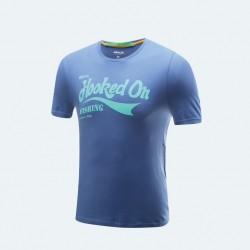 BKK HOOKED ON FISHING T-SHIRT Blue