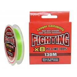 FIR TEXTIL FIGHTING X 8 LIME GREEN 130m